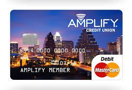 debit card for mastercard amplify emv debit card amplify credit union