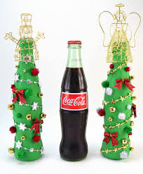 coca cola glass bottle tree craft a bigger
