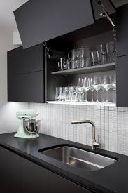 this scavolini dealer u0027s home kitchen will have you craving matte black