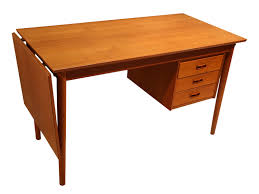 Drop Leaf Computer Desk Mid Century Teak Drop Leaf Desk Arne Vodder Denmark