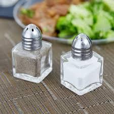 salt and pepper shakers 5 oz mini salt and pepper shaker 24 case