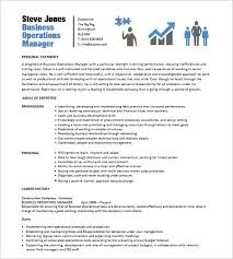 Procurement Resume Samples by 15 Business Resume Templates U2013 Free Samples Examples U0026 Formats