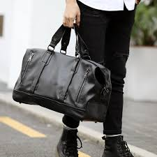 mens travel bag images Men 39 s pu leather travel bags large capacity messenger bags travel jpg
