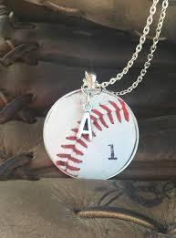 baseball jewelry baseball jewelry baseball necklace baseball team gifts