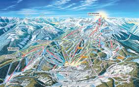 Utah Ski Resort Map by Big Sky Ski Resort