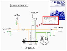 1988 honda shadow vt1100 turning signal wiring diagram 2007
