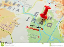 Map Iraq Iraq Map Stock Photography Image 36438702