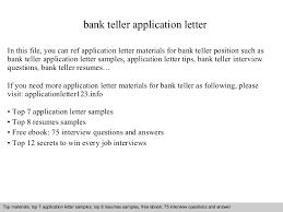 Teller Resume Teller Resume Teller Resumes Bank Teller Resume Examples