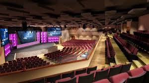D Rendering For Modern Church Theatre Interior Design PreVision - Modern church interior design