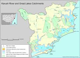 Map Of Great Lakes Karuah River And Great Lakequick Catchment Map