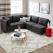 Free Sectional Sofa by Ink Ivy Grant Modular Sectional Free Shipping Today Overstock