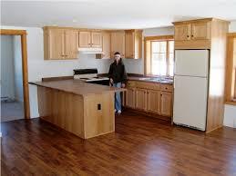 Laminate Flooring In Kitchen Kitchen Flooring Hickory Hardwood Laminate Floor In Medium