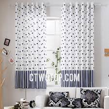 White And Navy Curtains White And Navy Polka Dots Best Shabby Chic Laundry Room