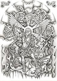 13 best st michael tattoo ideas images on pinterest artworks
