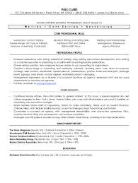 Best Resume Job Skills by Copy Editing Resume Resume For Your Job Application