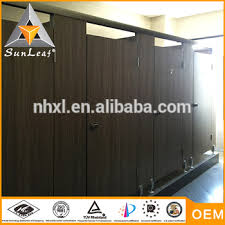 Stainless Steel Bathroom Partitions by Multilayer Structure Wood Bathroom Partitions Stainless Steel
