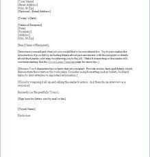 cover letter template word free cover letter template 52 free
