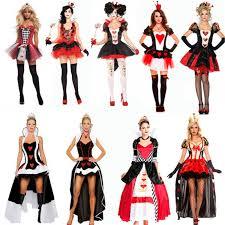 Halloween Costumes Queen Hearts Cheap Poker Queen Aliexpress Alibaba Group