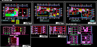 Multi Family Apartment Floor Plans Multifamily Housing Dwg File Architecture World