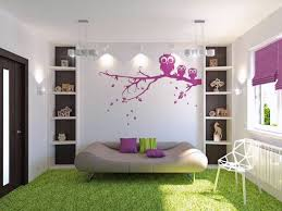 playroom wall decals black shining glass swivel chair pink stained