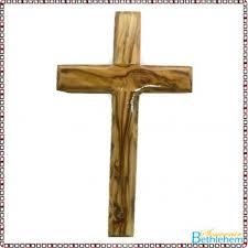 wood crucifix olive wood cross without crucifix bethlehem souvenir center