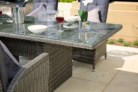 arla wicker dining set outdoor living direct outdoor living