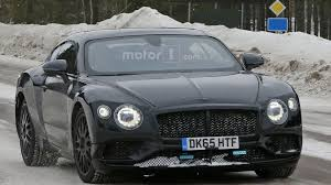 bentley 2018 2018 bentley continental gt spied looking lean and mean