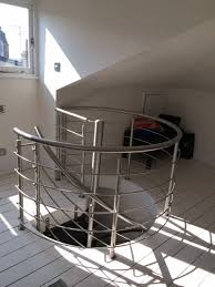 Spiral Staircase Handrail Covers Need Help Spiral Staircase That Leads To Guest Room With No Privacy