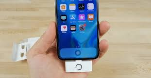 Iphone X Clever Device Adds A Home Button And Headphone To The Iphone X
