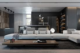 amazing studio apartment decor with the dark styling dark