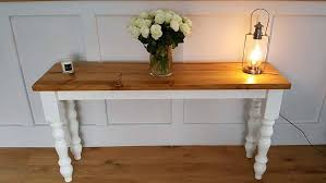 Farmhouse Console Table Rustic Console Table Entrance Table Hall Table Side Table T V