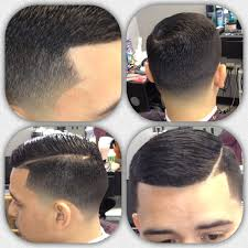 curly hair combover taper fade curly hair comb over fade hairstyle for men haircuts