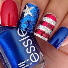 29 fantastic fourth of july nail design ideas sequins makeup