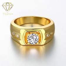 aliexpress buy gents rings new design yellow gold 2017 new design material gold gold white gold color fashion