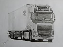 white volvo truck volvo fh iv globetrotter adn schmitz 120 jahre by maniek134 on