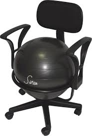 Modern Ball Chair Desks Balance Ball Chair Base Sitting On Yoga Ball Instead Of