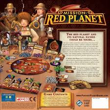 amazon com mission red planet board game toys u0026 games