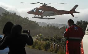 lamborghini helicopter pictures dramatic helicopter rescue off table mountain cape argus