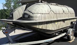 Ez Duck Blind Duck Hunting Chat U2022 14 U0027 Outlaw Duck Boat W 2006 Honda 50hp 4