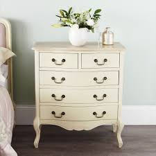 shabby chic champagne furniture cream chest of drawers dressing