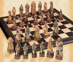 the celtic chess pieces house of staunton