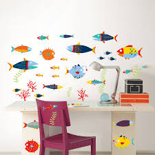wallpops murals and decals color the walls of your house wallpops murals and decals wallpops wall art kit fish tales wall decal reviews