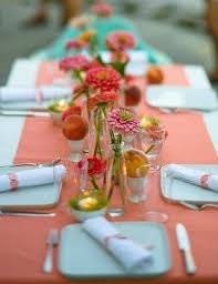 cheap coral table runners coral table runner