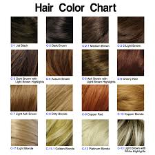 light golden brown hair color chart chart of hair colors hairstyle blog