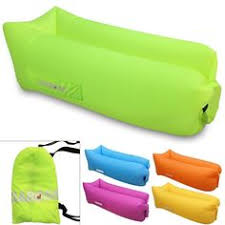 Air Filled Sofa by Gaboss Inflatable Lounger Sofa Bed Camping Beach Outdoor