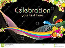 celebration theme stock image image 6150411