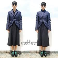 robe de chambre comme des garcons comme des garcons robe de chambre navy padded tuxedo jacket sz