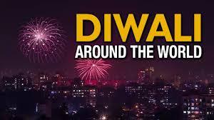 how diwali is celebrated around the world happy diwali india