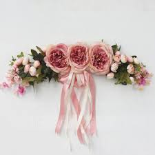 wedding decoration supplies decorative artificial flowers peony door lintel flower vine party