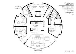 floor plan dl 5006 monolithic dome institute